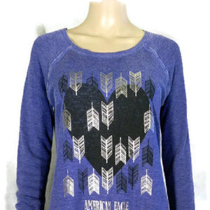 American Eagle Outfitters Blue Top M